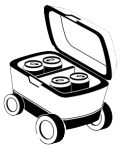Repuestos de neveras portatiles