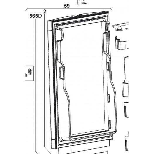 Puerta inferior Frigorífico Dometic