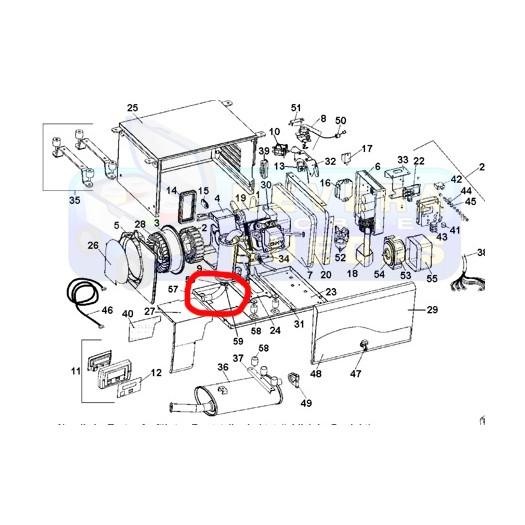 Flotador depósito Dometic tec 29