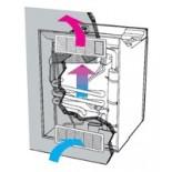 Rejilla de ventilación Dometic LS100 Blanco